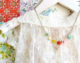 Flower Field Necklace