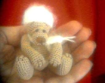FIORINO Thread Crochet Bear Pattern by Edith Molina