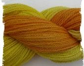 Alpaca Merino Yarn - Farm Grown - Hand dyed - 250 yards