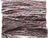 Hodgepodge Handspun Alpaca Yarn - 66 yards - Reduced