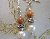 Elegance - Earrings - Your Choice - Color and Stone - CLEARANCE