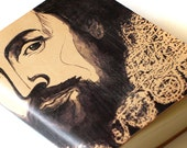 William Shakespeare Leather Journal Blank Book