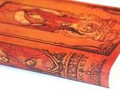 Macbeth Journal  - Shakespeare leather blank book journal
