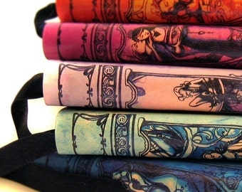 5 Shakespeare Journals - Leatherbound blank notebook - Your Choice
