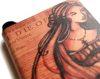 Desdemona Journal - Leatherbound Shakespeare Blank Book