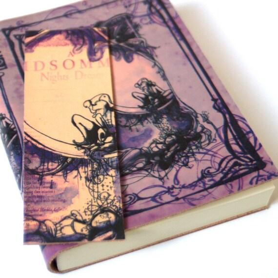 Midsummer Book Addict Gift Set - Shakespeare Leatherbound Blank Book
