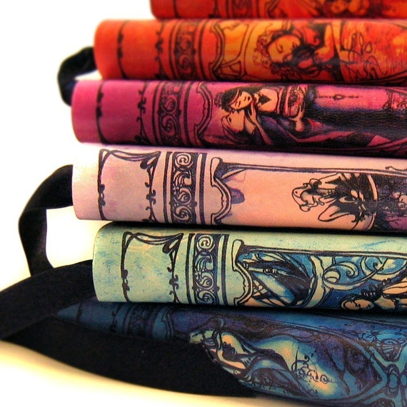 3 Shakespeare Journals - Leatherbound - Your Choice
