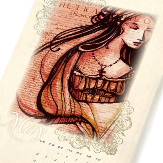 2012 Shakespeare Calendar - Wall Calendar - Now on sale