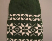 MADE TO MEASURE -  Dog - Pet  hand knitted  warm winter sweater  -  other colors are possible