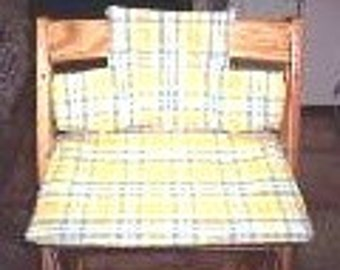 Cushion Set Sewing PATTERN for Tripp Trapp High Chairs - emailed