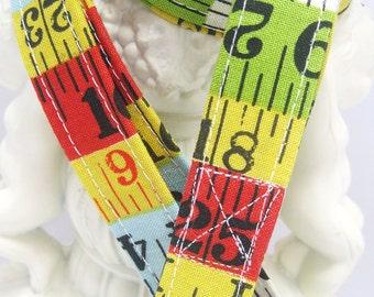 Teacher Lanyard, Badge Holder, ID Holder, Fabric Lanyard, Breakaway Lanyard, Employee Lanyard, Measure Up