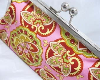Coupon Organizer Holder Amy Butler PInk Lotus