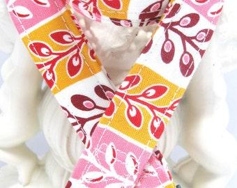 Lanyard, Badge Holder, ID Holder, Breakaway Lanyard, Fabric Lanyard, Employee Lanyard, Teacher Lanyard, Flea Market Fancy Pink
