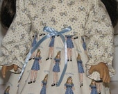 Gracie Girl Gown fits American Girl Dolls