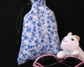 Blue Flower Treasure Bag