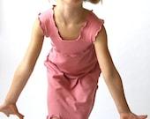 children's WIDE STRAP DRESS clothing| spring celebrations| fashion| children| girls dress| handmade|treehouse28| pink dress