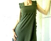 WIDE STRAP DRESS  best selling, trending items, custom, made to order, handmade dress, cotton dress, sleeveless dress, womens dress