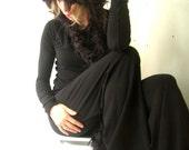 WIDE LEG PANTS yoga pants| best selling yoga pants| black pants| handmade| stretchy pants| women fashion| long pants| women's pants| custom