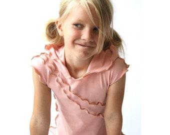 CHILDREN'S HOODED DRESS clothing| children| girls| handmade| treehouse28| custom| best selling