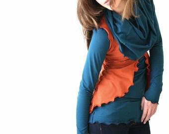 VEST women's clothing, women's vest, custom clothing, handmade, shirt for women, tops, top