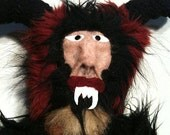 Xmas With Krampus  Plush Art Doll Krampus Derek