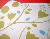 SALE Handmade Blank Notecards - Summer Flowers (Set of 6)
