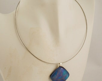 16 Inch Natural Steel Cable Necklace