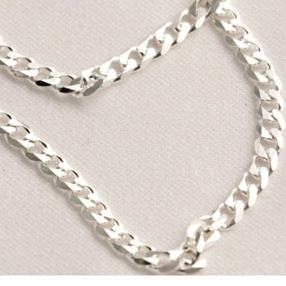 20 Inch Cuban Style Curb Chain 3 MM thick