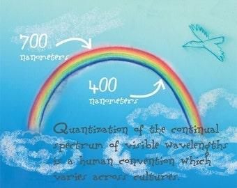 Nerd art - rainbows and sunshine