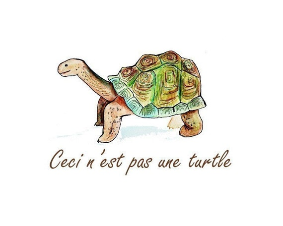 Nerdy baby art -- set of THREE animal prints -- tortoise, crocodile, sea lion