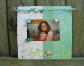 Feelings magnetic picture frame\/memo board