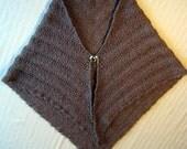 Knitting Pattern for Anastasia Alpaca Shawl