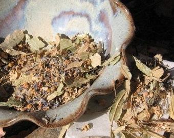 TUB TEA calming herbal bath brew