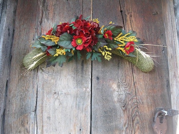 AUTUMN Arch Swag DECoRation for Wall or DOOR