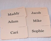 Personalized Birthday Flash Card Tag Set