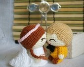 dilian and mayee, wedding dolls pattern