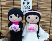 Kyle & Adele Wedding Dolls Pattern