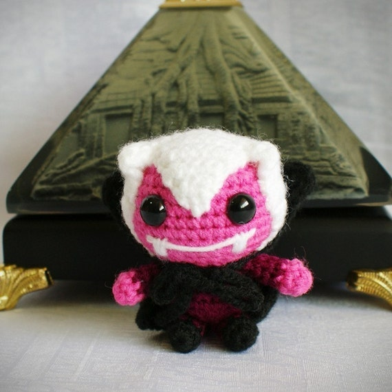 vampie amigurumi vampire pattern