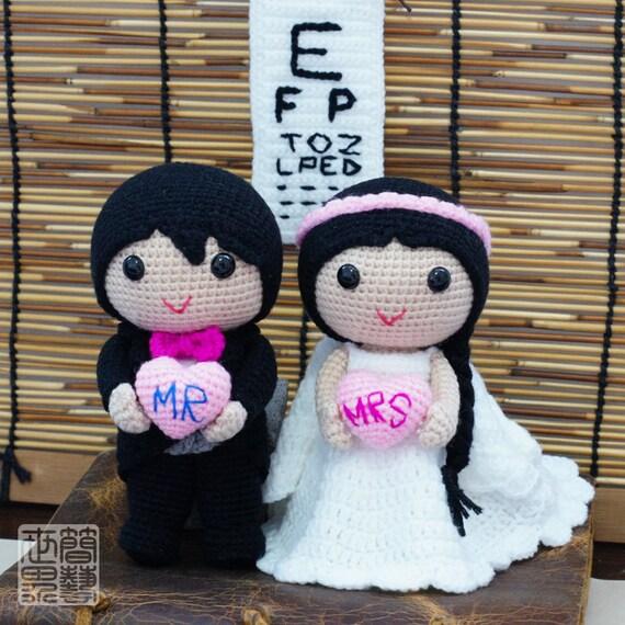 Kyle & Adele Wedding Dolls Pattern