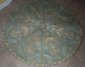 Christmas in July FINAL Closeout Damask Christmas Tree Skirt