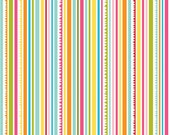 Sunny Happy Skies Fabric Bright Multi Color Stripe 1 Yard by Riley Blake Designs  New