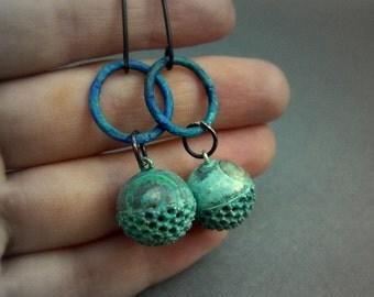 Pod earrings