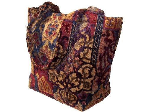 Large Tapestry Tote Bag