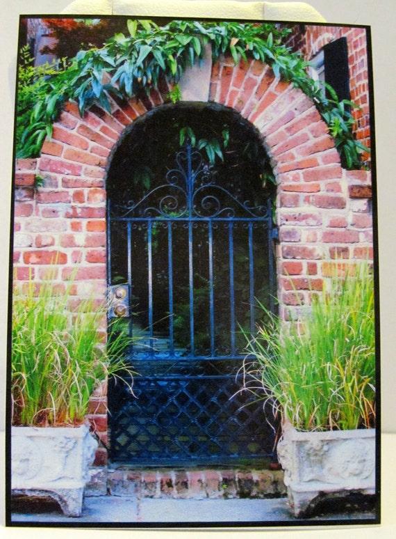 Secret Garden Gate ACEO Fine Art Photography