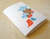 SALE - Cute singing birds notebook