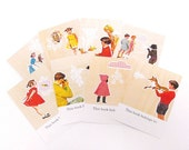 cabin and cub bookplate set - option to personalize - (set of 8)