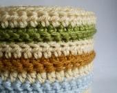 Crocheted scarf (vegan)