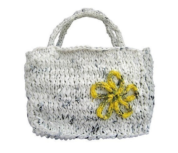 Knitting Pattern Grocery Bag : Pattern Everyday Grocery Bag Handbag Knitting Pattern