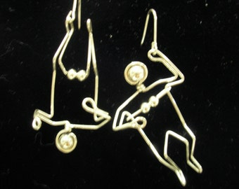 Boobs and Balls earrings