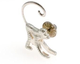 cocktail monkey pin - tie tack